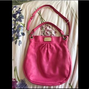 Marc Jacobs Hillier Hobo in Blossom Pink (rare)